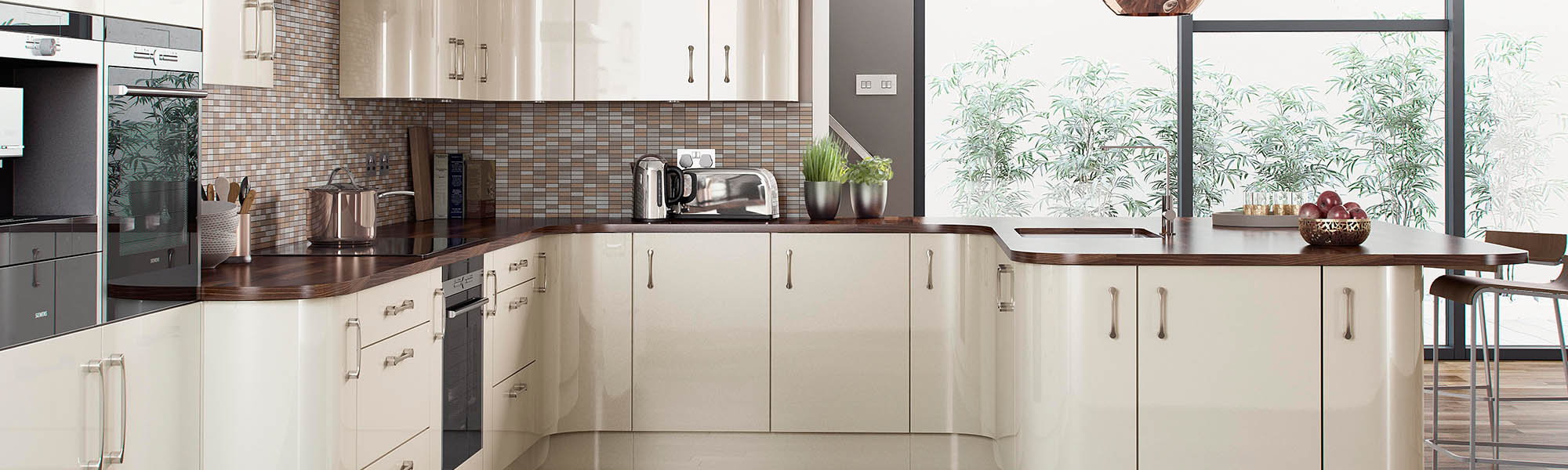 Abbey kitchens and bathrooms - Designer Kitchens Nottingham